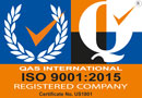 ISO 9001:2015 Registered Firm